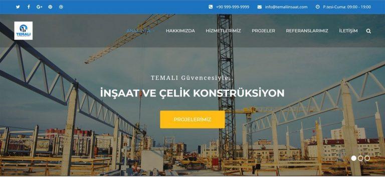 Temalı İnşaat ve Çelik Konstruksiyon